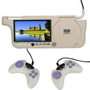 Car Sun Visor LCD Monitor DVD Player w/ Game handles