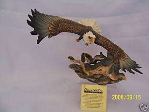 Beautiful Classic Wildlife Collection Eagle Figurine