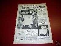 1951 Maytag Automatic Washer Washing Machine Oven Ad |