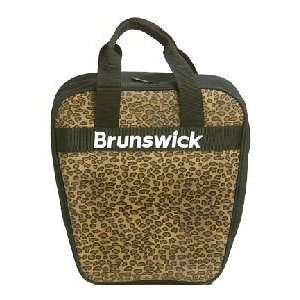 Brunswick Dyno Leopard Bowling Bag Sports & Outdoors