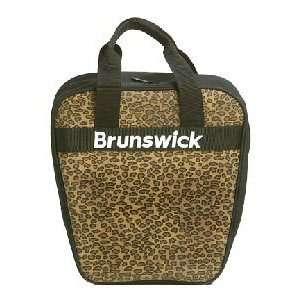 Brunswick Dyno Leopard Bowling Bag Sports & Outdoors
