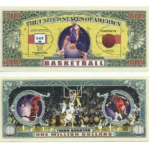 Set of 10 Bills Basketball Million Dollar Bill Toys & Games