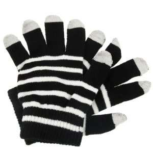 SmartPhone Gloves for your Touch Screen Phone (Black/White