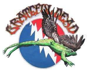 Grateful Dead T Shirt  Summer Tour 1990 Vintage Style