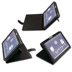 Leather Flip Carry Case With Adjustable Stand For The Motorola Xoom