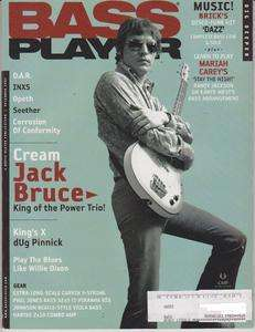 Bass Player Magazine (December 2005) Cream Jack Bruce / Kings X dUg