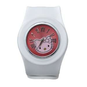 Hello Kitty Slap Watch   Silicone Slap On Watch   White   Large