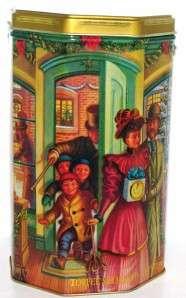 97 Callard Bowser Toffee Candy Shop Christmas Holiday Tin Box