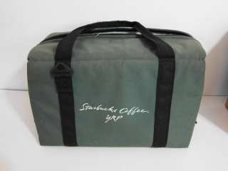STARBUCKS COFFEE YRP LARGE INSULATED CARRY BAG TOTE