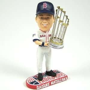 BOSTON RED SOX DICE K MATSUZAKA 07 WS BOBBLEHEAD BOBBLE