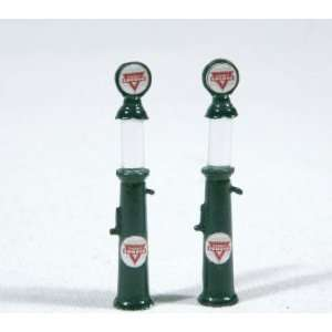 TEXACO GRAVITY GAS PUMPS   JL INNOVATIVE DESIGN HO SCALE