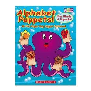 Alphabet Puppets Book Toys & Games