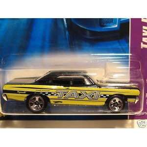 Hot Wheels 70 Plymouth Road Runner Taxi Rods #51 (2007