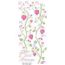 RoomMates Fairy Princess Peel & Stick Growth Chart   York Wall