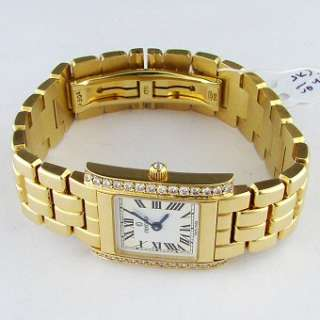 Concord la Tour 14k Gold Diamond Ladies Watch with Box