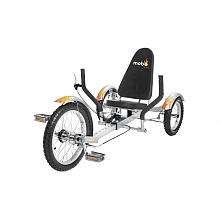 Mobo Triton The Ultimate Three Wheeled Cruiser   Silver   ASA