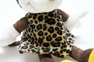 12 Mickey & Minnie Mouse Leopard Soft Plush Doll