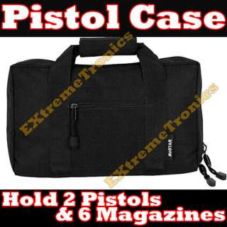 Discreet Padded Pistol Gun Carrying Bag Storage Case 13 x 9