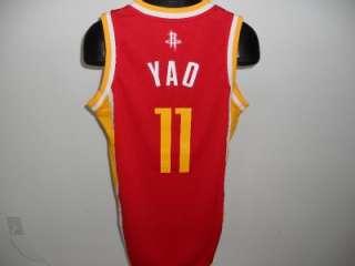 NEW Yao MING #11 Houston ROCKETS 2XLarge 2XL SWINGMAN Adidas REV30