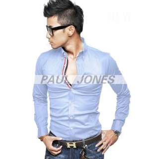 Longsleeve Slim fit style casual fashion dress home work shirts