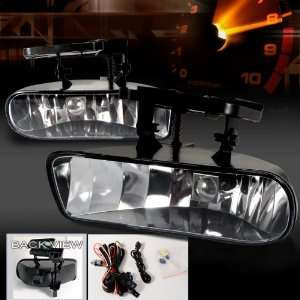 02 GMC Sierra OEM style Fog Lights with Relay & Switch   Clear (Pair