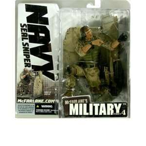 Military Series 4  Navy Seal Sniper (Caucasian) Action Figure Toys