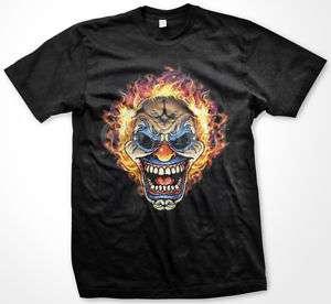 Insane Clown Skull Head Juggalo Faygo Fam Mens T shirt