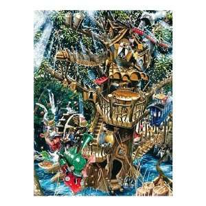 Factory Restaurant in the Woods 550 Piece Jigsaw Puzzle Toys & Games
