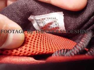 2006 Nike Zoom LEBRON JAMES IV 4 BLACK WHITE CRIMSON RED SILVER Sz 8.5