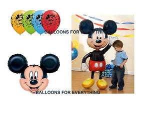 MICKEY MOUSE AIRWALKER BIRTHDAY PARTY JUMBO BALLOONS
