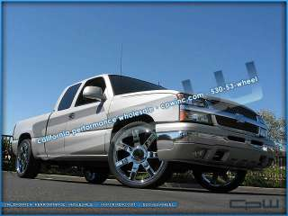 24 CHROME WHEELS RIMS OEM STYLE FOR SUBURBAN TAHOE SILVERADO
