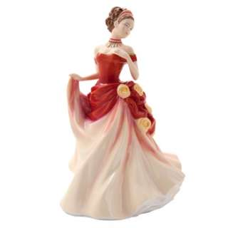 Royal Doulton Pretty Ladies Seasons Figurine Autumn Ball