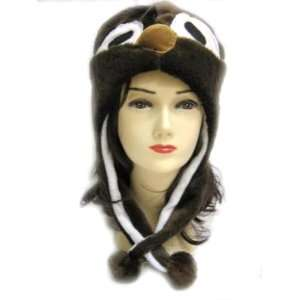 Penguin Animal Hat   Penguin Hat with Ear Flaps and Poms Toys & Games