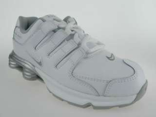 NIKE SHOX NZ SI (PS) NEW Girls Youth White Running Shoes 1Y 1.5Y 2Y 2