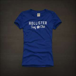 2012 NEW Hollister by Abercrombie womens Crescent Bay Graphic Tee T