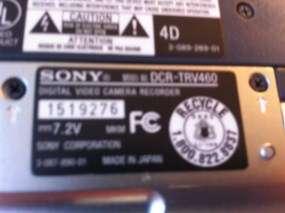 DCR TRV460 DIGITAL HANDYCAM DIGITAL 8 990X ZOOM CAMCORDER VIDEO PLAYER