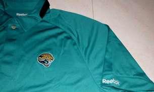 Jaguars Sideline Polo Shirt 2XL Reebok NFL Embroidered Logos