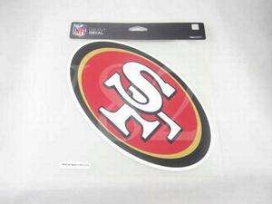 NFL San Francisco 49ers 8x8 Die Cut Decal Sticker