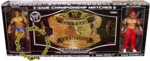 WWE Wrestling Championship Belt Batista & Rey Mysterio