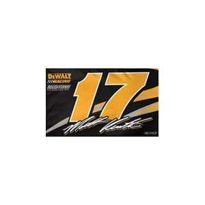 Matt Kenseth Two Sided Fan Flag Patio, Lawn & Garden