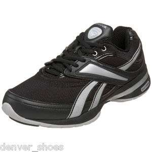 Reebok Easytone Womens Walking Toning Dance Shoes Sneakers Black
