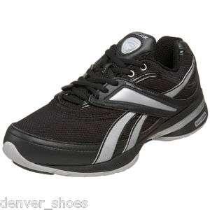 Reebok Easytone Womens Walking Toning Dance Shoes Sneakers Black