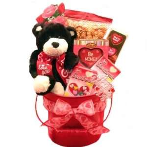 Be Mine Valentines Day Gift Basket  Grocery & Gourmet