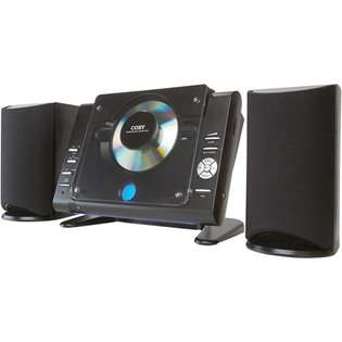 Coby Micro CD Player Stereo System with AM/FM Tuner at