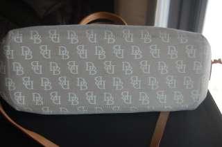 Beige Signature Tassel Tote Bag Handbag Purse + shoulder strap