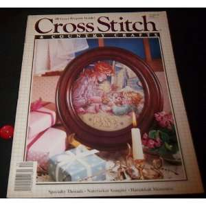 Cross Stitch and Country Crafts, November/ December 89 Cross Stitch