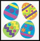 Easter Egg Magnet Craft Kit for Kids No Glue Fun Spring Party Favor