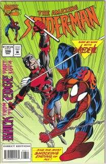 the Amazing Spider Man Comic Book #396, Marvel 1994 NEAR MINT