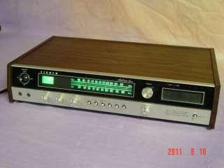 rare FISHER 4080 FM & 8 Track Stereo Receiver 4/2 120w