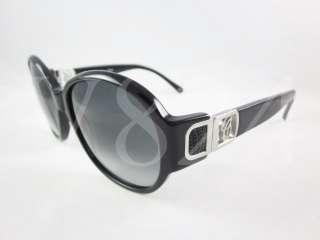 CHLOE CL 2241 01 Sunglasses Black Silver Frame/ Gradient Lens CL2241